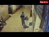 CCTV viral video: Man beats mother on road in Bareilly