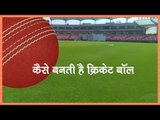 Making Of Cricket Ball in India
