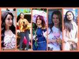 Bollywood Stars Spotting: 'O Saki Saki' girl Nora Fatehi Enjoys Rains | Sunny Leone With her Twins