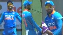 India vs West Indies,1st ODI : Virat Kohli Dances With Chris Gayle During Rain Break In 1st ODI