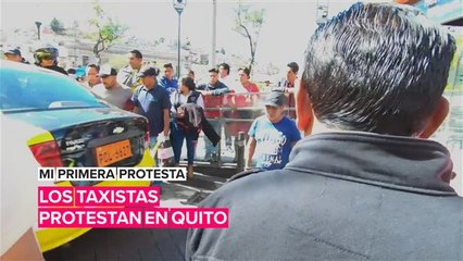 Mi primera protesta: Taxi contra Uber y Cabify