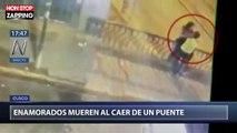Pérou : Un couple alcoolisé chute d'un pont à cause d'un baiser (vidéo)