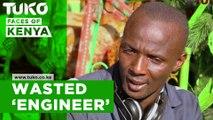 Nairobi man building his own cars.