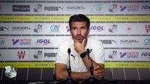 Conférence de presse d'avant Match - Luka Elsner