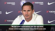 My decision for Luiz to miss training - Lampard