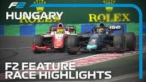 Formula 2 Feature Race Highlights - 2019 Hungarian Grand Prix