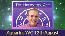 Aquarius Weekly Astrology Horoscope 12th August 2019
