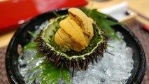 Japanese Food - RED LOBSTER Scorpion Crabs Blue Crab Sashimi Teruzushi Japan