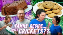 Homemade vs the Internet S6E3 - Chefs Make Old Family Recipes... with Cricket Flour!
