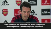 (Subtitled) 'Our goal is top-four finish' says Arsenal head coach Emery ahead of EPL debut