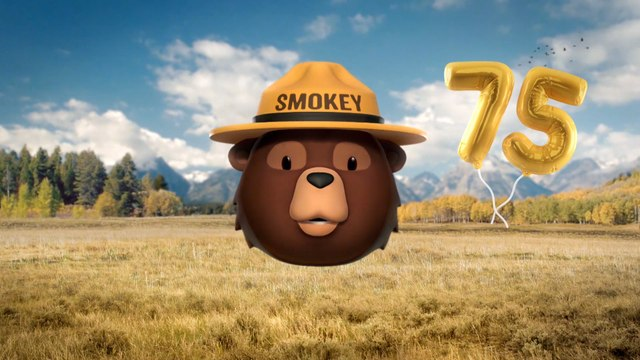 Smokey Bear Marks 75 Years of Wildfire Prevention Campaign