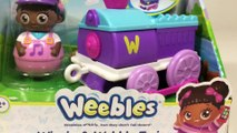 Weebles Winnie and Wobbly Train Unboxing Demo Review