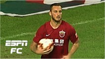 Marko Arnautovic scores penalty for Shanghai SIPG in draw vs. Guangzhou R-F - Chinese Super League
