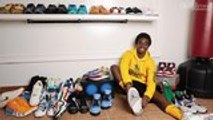 'Stranger Things' Star Caleb McLaughlin's Jordan Wings, Cactus Jacks, Red Carpet Kyries and More | Sneakerheads