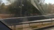 Detenido por circular con su coche a 80 km/h por un carril bici de Madrid durante varios kilómetros
