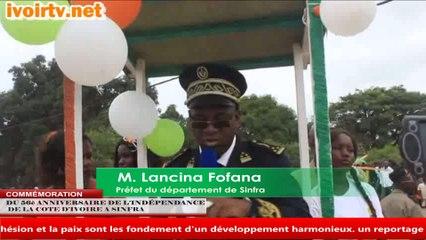 SINFRA/ Célébration de l'anniversaire de l'Indépendance de la Côte d'Ivoire: Le Préfet appelle à la Cohésion sociale