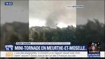 Une mini-tornade frappe la Meurthe-et-Moselle