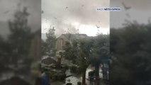 Une tornade s'abat sur Longwy (Meurthe-et-Moselle)
