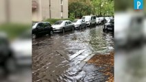 Paris : 15 jours de pluie en une heure