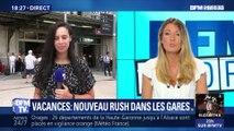 Vacances: nouveau rush dans les gares