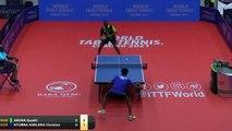 Aruna Quadri vs Christian Ntumba Ngeleka   2019 ITTF Nigeria Open Highlights (R64)
