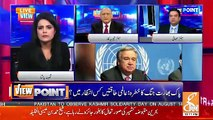 Are Govts Efforts On J&K Issue Really Effecting On India.. Zafar hilaly Response