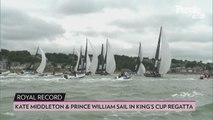 See Kate Middleton and Prince William (Sporting Vacation Tans!) Compete in Charity Sailing Race