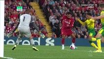 Premier League - 1ère journée - Le but de Mohamed Salah face à Norwich