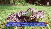 Mike Posner Bitten by Rattlesnake While Walking Across America