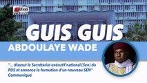 Guis Guis Abdoulaye Wade dans Jakaarlo bi du 09 Aout 2019