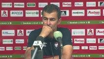 Conférence de presse de Rui Almeida après  AC Ajaccio / SMCaen