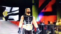 roman reigns vs seth rollins for the title #wwe #prowrestling #wrestling