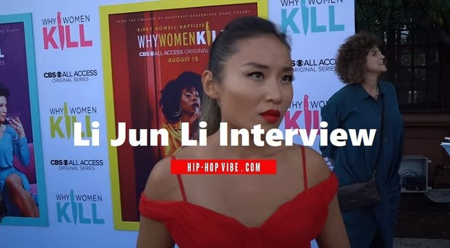 """HHV Exclusive: Li Jun Li talks playing Lucy Liu's daughter in CBS All-Access' """"Why Women Kill,"""" how she got the role, and more"""