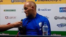 Alex Neil Norwich back reactoin