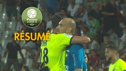AC Ajaccio - SM Caen (1-2)  - Résumé - (ACA-SMC) / 2019-20