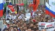 """Moscou : record de mobilisation pour réclamer des """"élections libres"""""""