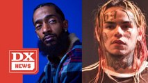 "Nipsey Hussle Disses Tekashi 6ix9ine On Rick Ross' ""Rich Nigga Lifestyle"""
