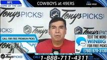 Cowboys vs 49ers NFL Pick 8/10/2019