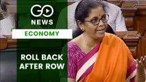 Government's Move To Tackle Economic Slowdown