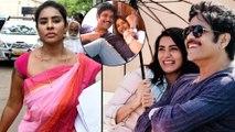 Sri Reddy Sensational Comments On Samantha & Nagarjuna    Filmibeat Telugu