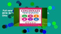 Full version  Cincinnati Restaurant Guide 2019: Best Rated Restaurants in Cincinnati, Ohio - 500