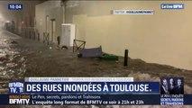 Intempéries: à Toulouse, l'équivalent de 10 jours de pluie est tombé en une heure