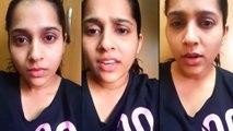 Rashmi Gautam Fires On Her Fans In Live Chat    Filmibeat Telugu