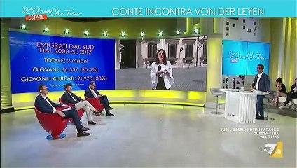 Claudio Cominardi ospite a L'Aria Che Tira Estate La7 02/08/2019 - MoVimento 5 Stelle - M5S