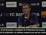 """Barça - Valverde : """"Il y a toujours des critiques"""""""