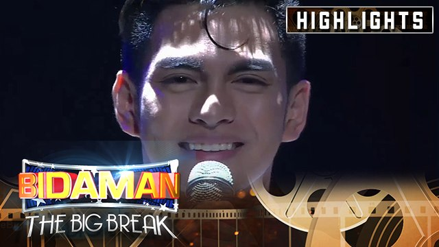 Jiro Custodio's final performance on The Spotlight round | It's Showtime BidaMan