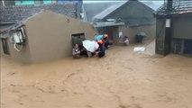 El tifón Lekima se cobra al menos 13 víctimas en su llegada a China