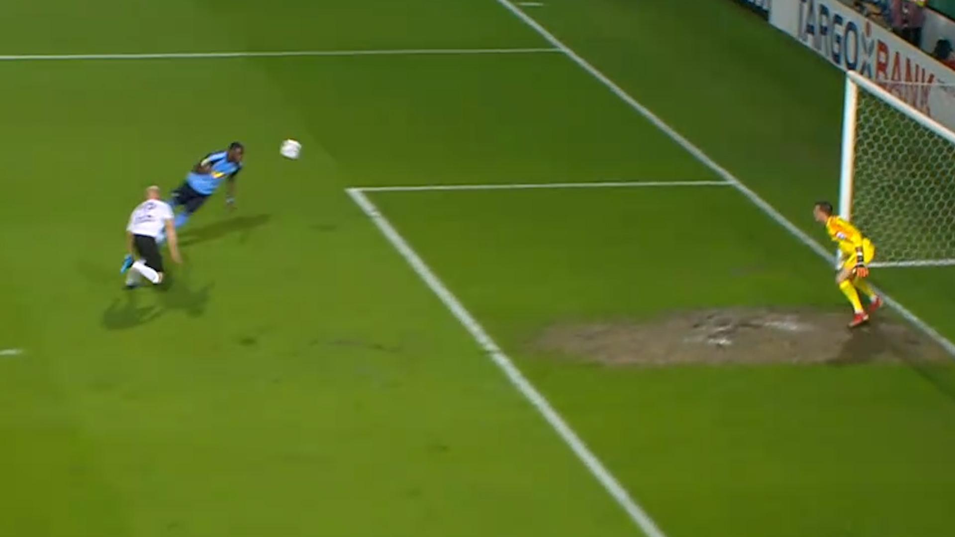 Vidéo: le premier but de Marcus Thuram avec  Mönchengladbach