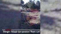 Lirohen plazhet në Shëngjin/ Zaptuesit largohen me ndihmën e policisë