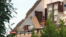 Tornade : dégâts spectaculaires à la frontière luxembourgeoise